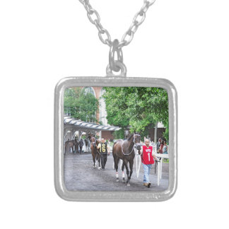 The Mother Goose Stakes 2016 Silver Plated Necklace