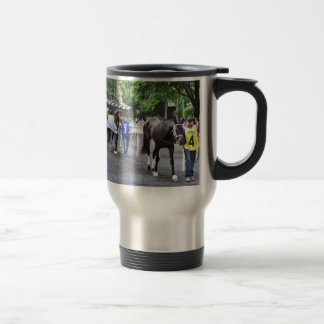 The Mother Goose Stakes Travel Mug