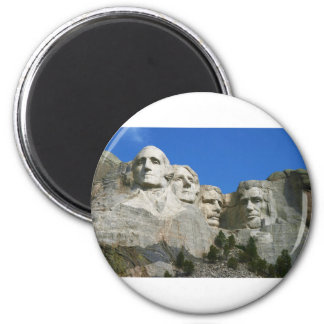 The Mount Rushmore Presidential Monument 2 Inch Round Magnet
