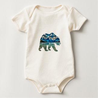 THE MOUNTAIN LAKE BABY BODYSUIT