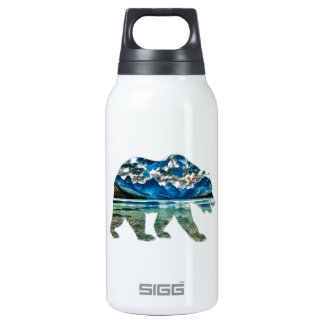THE MOUNTAIN LAKE INSULATED WATER BOTTLE