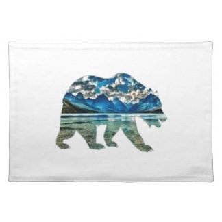 THE MOUNTAIN LAKE PLACEMAT