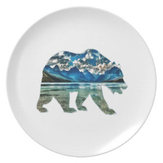 THE MOUNTAIN LAKE PLATES