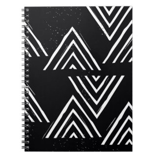 The Mountain Top - Black Spiral Note Books