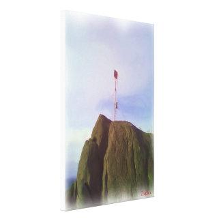The mountain top gallery wrap canvas