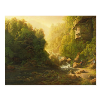 The Mountain Torrent, c.1820-30 (oil on canvas) Postcard