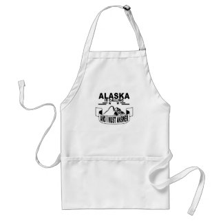 The Mountains Are Calling and I Must Go Standard Apron