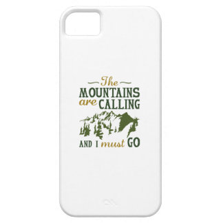 The Mountains Are Calling Case For The iPhone 5
