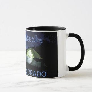 The Mountains are calling Colorado mug
