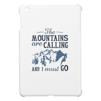The Mountains Are Calling Cover For The iPad Mini