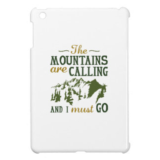 The Mountains Are Calling iPad Mini Case