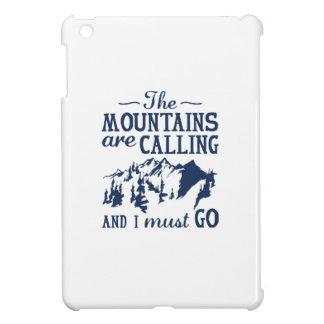 The Mountains Are Calling iPad Mini Cover