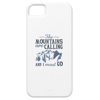 The Mountains Are Calling iPhone 5 Cases