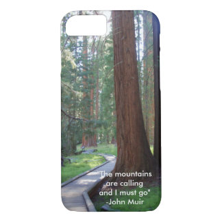 The Mountains Are Calling iPhone 7 Case