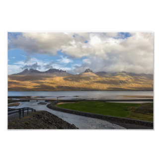 The mountains of Southern Iceland Photo Print