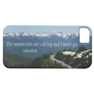 The Mountians are Calling iPhone 5 Covers