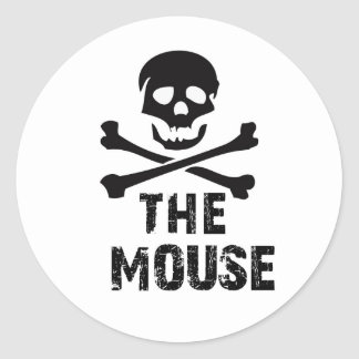 THE MOUSE CLASSIC ROUND STICKER