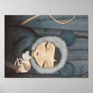 The Mouse Princess little - pression artificielle Poster