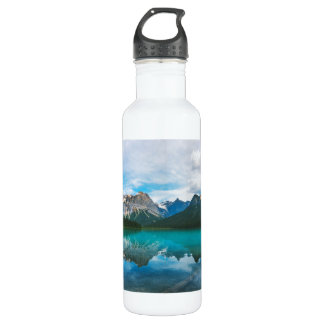 The Moutains and Blue Water 710 Ml Water Bottle