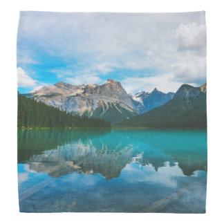 The Moutains and Blue Water Bandana