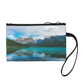The Moutains and Blue Water Change Purse