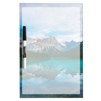 The Moutains and Blue Water Dry Erase Board