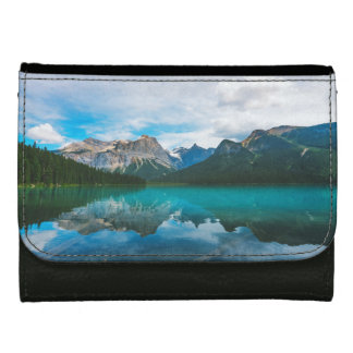 The Moutains and Blue Water Leather Wallet