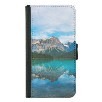 The Moutains and Blue Water Samsung Galaxy S5 Wallet Case