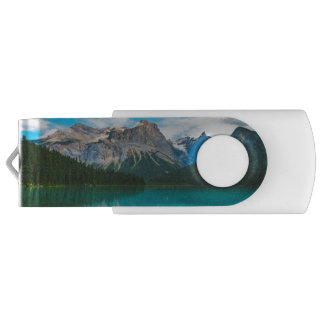 The Moutains and Blue Water USB Flash Drive