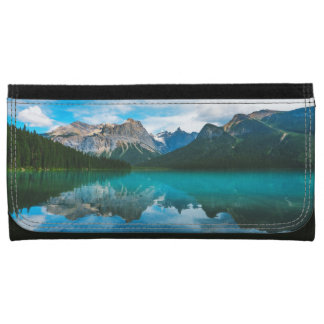 The Moutains and Blue Water Wallet For Women