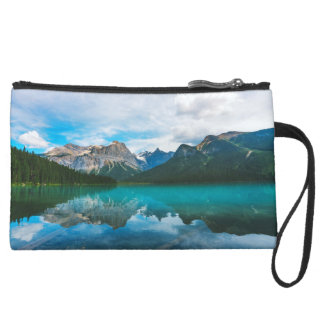 The Moutains and Blue Water Wristlet