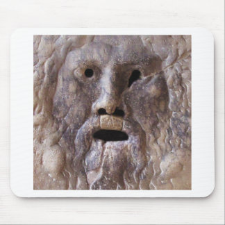 The Mouth of Truth - Rome, Italy Mouse Pad