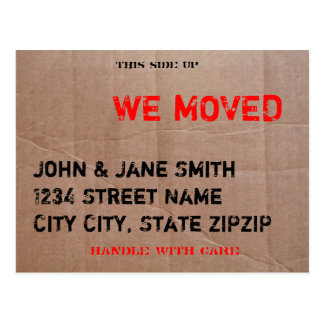 The Moving Box Postcard
