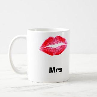 the Mrs lips mugs