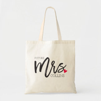 The Mrs. Shoppe | Personalized Future Mrs. Tote Bag