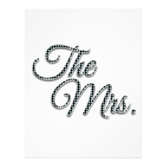 The Mrs with Bling! Letterhead Template