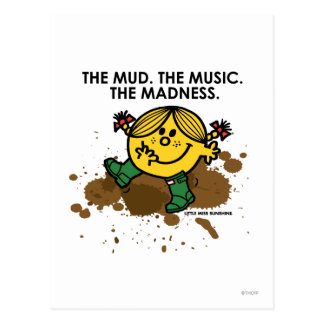 The Mud The Music The Madness Postcard