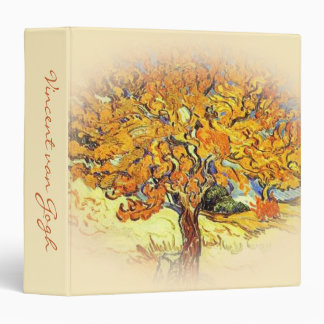The Mulberry Tree, Vincent van Gogh. 3 Ring Binder
