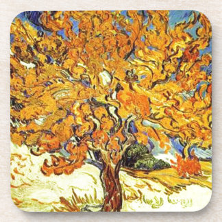 The Mulberry Tree, Vincent Van Gogh Beverage Coasters