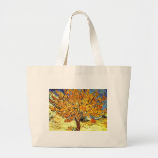 The Mulberry Tree, Vincent Van Gogh Large Tote Bag