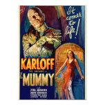 "The Mummy 1932 Film 5"" X 7"" Invitation Card"