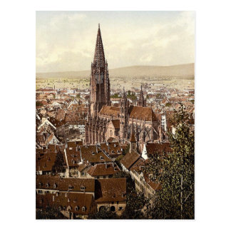 The Munster, Freiburg, Baden, Germany magnificent Postcard