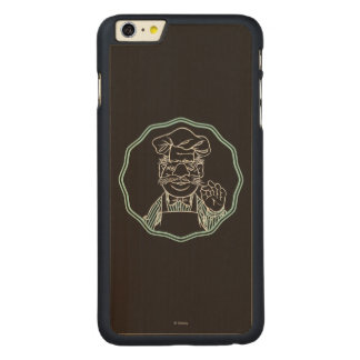 The Muppets | Chef Framed Carved® Maple iPhone 6 Plus Case