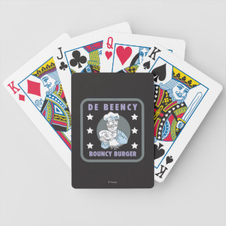 The Muppets | De Beency Bouncy Burger Logo Poker Deck