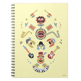 The Muppets Electric Mayhem Iconic Shape Graphic Notebook