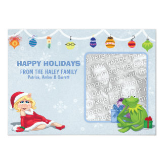 "The Muppets Holiday Card 5"" X 7"" Invitation Card"