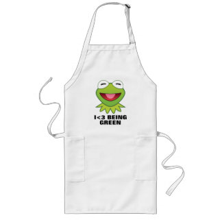 The Muppets| Kermit The Frog Emoji Long Apron