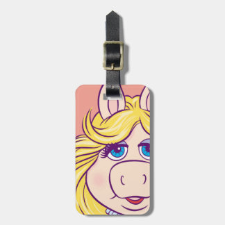 The Muppets Miss Piggy Face Disney Luggage Tag