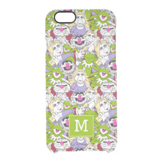 The Muppets | Monogram Oversized Pattern 2 Clear iPhone 6/6S Case