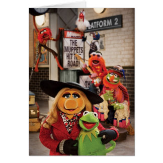 The Muppets Most Wanted Photo 1 Greeting Card